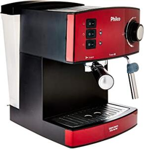 [PRIME] Cafeteira, Expresso 20 Bar, 2 xicaras, Vermelho, 110V, Philco