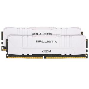 Memória Crucial Ballistix Sport LT, 16 GB (2X8), 2666MHz, DDR4, CL16, Branca | R$480