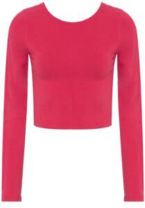 Blusa Cropped Basiq - Vermelho   R$35