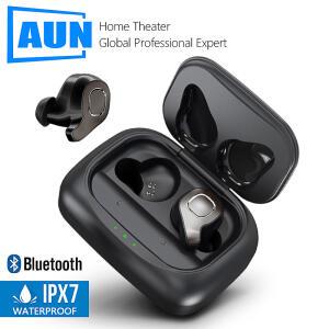 Aun f8 tws bluetooth 5.0 Fone de Ouvido   R$198