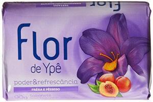 Sabonete em Barra Suave Flor de Poder 90G, Ypê, Roxo