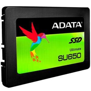 SSD Adata 120GB SU650 Leitura 520MB/s Gravação 450MB/s - R$ 184,73
