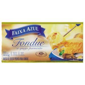 Fondue de Queijo Parmesão FAIXA AZUL Caixa 400g - R$34