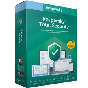 Kaspersky: Total Security + VPN Premium - 1 Ano / 3 (R$79,95) ou 5 Licenças (R$99,95)