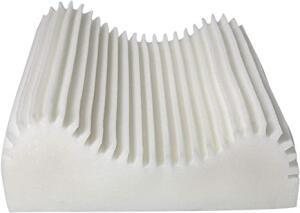 [PRIME] Travesseiro Ortopédico Cervical para Fronhas 50x70cm, Fibrasca, Revestimento em Malha 100% Algodão, com Zíper