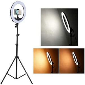 Kit Completo Ring Light Com Tripé Dimmer Youtuber Selfie Pro R$ 299