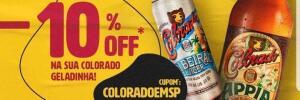 SOMENTE SP - ZE DELIVERY 10% Desconto na COLORADO