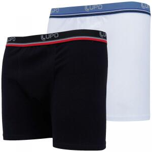 Kit de Cueca Boxer Lupo com 2 Unidades - Adulto | R$28