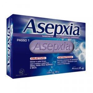 Sabonete Asepxia 90g - R$7