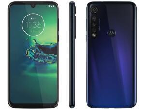 [Clube da Lu] Smartphone Motorola G8 Plus 64GB Azul Safira 4G - R$1.368