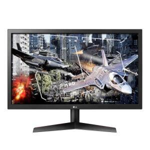 "Monitor Gamer LG 24"" Full HD 24GL600F-BAWZ IPS 1ms MBR Freesync Preto 144Hz"