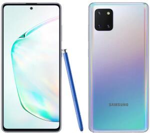 Smartphone Samsung Galaxy Note 10 Lite Prata 128GB, 6GB RAM - R$2186