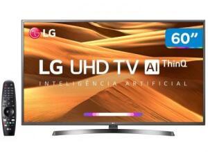 """Smart TV 4K LED 60"""" LG 60UM7270PSA Wi-Fi HDR - R$2998"""