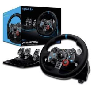 Volante Gamer Logitech G29 PlayStation Driving Force Preto | R$1.359