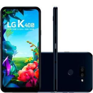 LG Smartphone LG K40S, 32GB, 13MP, Tela 6.1´, Preto - LMX430BMW