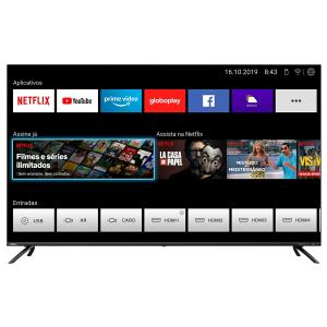"Smart TV Philco 55"" PTV55G72SBL 4K QLED - R$2700"