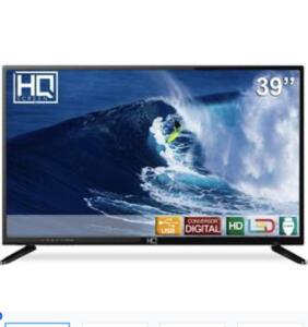 TV LED 39 HQ HQTV39 HD Conversor Digital 3 HDMI 2 USB