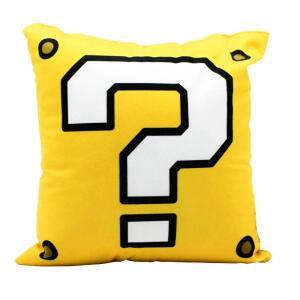 Almofada Bloco de Interrogação Amarelo: Super Mario Bros | R$ 40