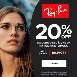 Ray-ban com 20%OFF
