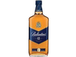 Whisky Ballantines Escocês 12 anos - 1L   R$95
