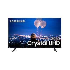 "Samsung Smart TV 43"" Crystal UHD TU7000 4K, Borda Infinita, Controle Único, Bluetooth, Processador Crystal 4K"