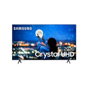 "Smart TV Samsung 50"" Crystal UHD 4K Borda Infinita 50TU8000 | R$2.299"