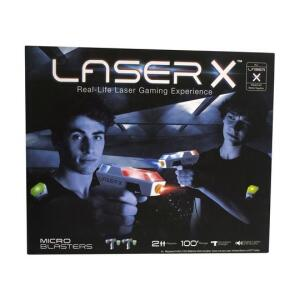Laser X Lançador Mini Duplo Sunny | R$140