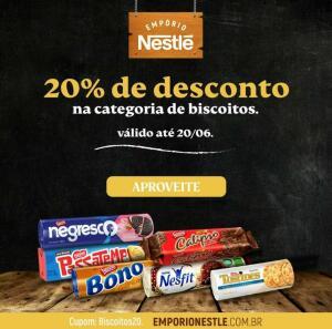 20% de Desconto no Empório Nestlé