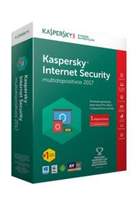 Kaspersky Internet Security Multidispositivos 2017 - 5 Disp + 1 Free | R$40