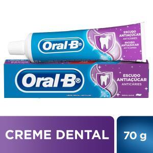 [Leve 3 Pague 2] Creme dental oral B escudo antiaçúcar 70g