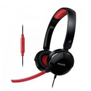 Headset Gamer Philips SHG7210 Preto/Vermelho | R$66