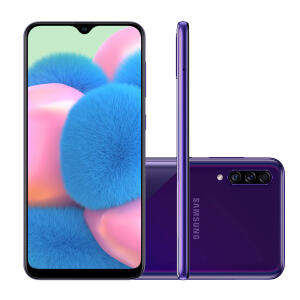 Smartphone Samsung Galaxy A30S SM-A307M Violeta