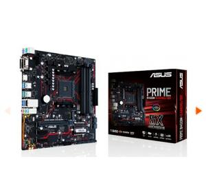 Placa Mãe Asus Prime B450M Gaming/BR, Chipset B450, AMD AM4, mATX, DDR4 | R$547