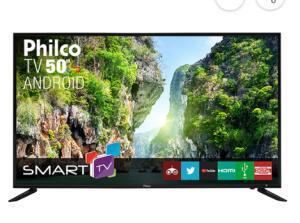 "Smart TV LED 50"" Philco PTV50D60SA FULL HD | R$1.551"