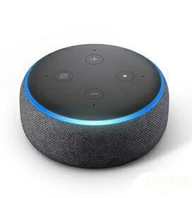 [13.960 milhas] ECHO DOT - Smart Speaker Amazon com Alexa Preto