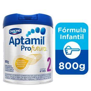 Fórmula Infantil Aptamil Profutura 2 Danone Nutricia 800g | R$55