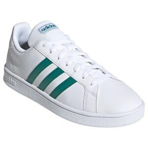 Tênis Adidas Grand Court Base Masculino - Branco e Verde
