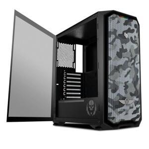 Gabinete Gamer Pichau Gadit X RTB Lateral Vidro LED RGB, PGG-XC1