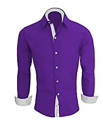 Camisa Social Masculina Slim Fit Luxo Camiseta Manga Longa
