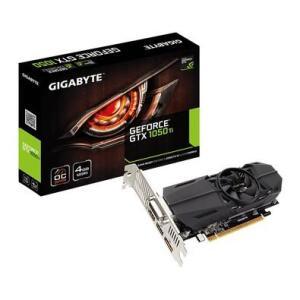 Placa de Vídeo Gigabyte NVIDIA GeForce GTX 1050 Ti OC 4GB, GDDR5   R$827