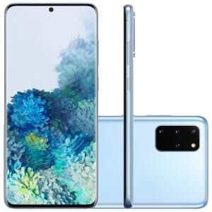 "Samsung Galaxy S20 Plus 128GB Dual Chip 8GB RAM 4G Tela Infinita de 6.7"" Cloud Blue"