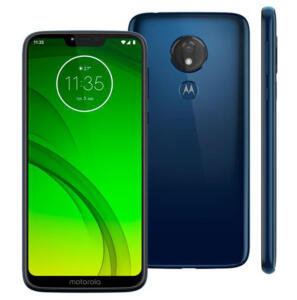 Smartphone Motorola Moto G7 Power Azul Navy 32GB 3GB RAm | R$899