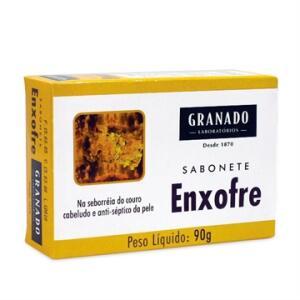 [R$ 4,49 CADA] Sabonete Granado 90g Enxofre - Embalagem c/ 24 unidades