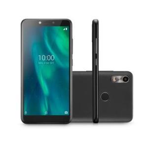 Smartphone Multilaser F, 16GB, 5MP, Tela 5.5´, Preto + Capa e Película - P9105 | R$383
