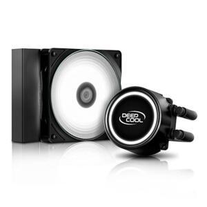 Water Cooler DeepCool Gammaxx L120T, LED White, 120mm, Intel-AMD, DP-H12RF-GL120TWH