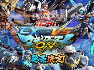 Jogo MOBILE SUIT GUNDAM EXTREME VS. MAXIBOOST ON Acesso Livre - Demo PS4