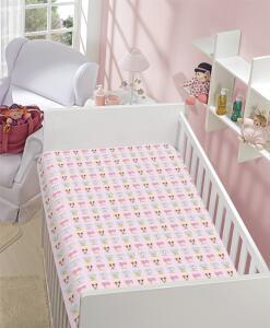 Manta Poliester Disney Soft Minnie & Margarida Jolitex Multicor Infantil Poliéster R$37