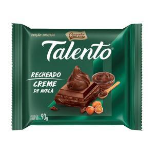 Chocolate Talento Recheado Creme De Avelã 90g - Garoto Valor mínimo R$50