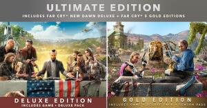 Far Cry 5 Gold Edition + Far Cry New Dawn Deluxe Edition   R$205
