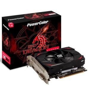 Placa de Vídeo PowerColor AMD Radeon RX 550, 2GB, DDR5 - R$450